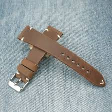20mm watch strap rolex leather watch
