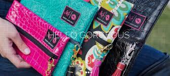 brands makeup junkie bags beaudazzled