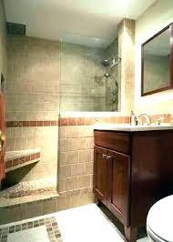 half wall shower enclosure stun glass