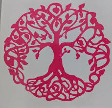 Tree Of Life W Branches And Roots Vinyl Decal For Car Home Yeti La Ftw Custom Vinyl