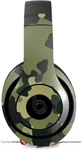 Amazon Com Skin Decal Wrap Works With Beats Studio 2 And 3 Wired And Wireless Headphones Wraptorcamo Old School Camouflage Camo Army Skin Only Headphones Not Included Home Audio Theater