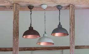 metal pendant lamps copper interior