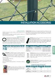 English 2010 Catalogue Of Lippi Fencing Solutions By La Cloture Lippi Issuu