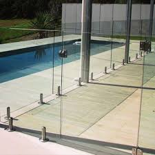 Merging Safety With Style Our Glass Pool Fence Gates Are Self Closing And Self Latching Poolfence Outdoo Glass Pool Fencing Glass Pool Glass Railing System