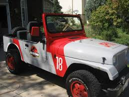 Decals Jurassic Jeep 65 Million Years In The Making