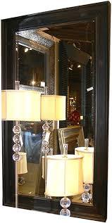 com oversize solid wood mirror