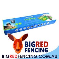 Nemtek 24m Pet Stop Solar Powered Dog And Pet Electric Fence Kit Big Red Fencing