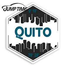 Jump Time Quito City Vinyl Stickers Ecuador Travel Sticker Luggage Window Bumper Decal Waterproof Car Accessories Car Stickers Aliexpress