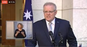 Australian PM @ScottMorrisonMP ...