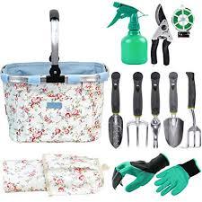 foldable handle garden tools bag