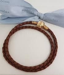 authentic pandora brown leather 34 cm