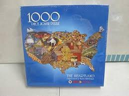 Bits & Pieces The Heartland By Marylou Smith-Reason 1000 Piece ...
