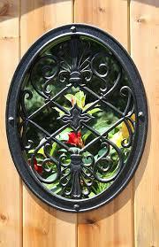 Home Acw54 Garden Nuvo Iron Square Decorative Insert For Fencing Gates Outdoor Decor Patio Lawn Garden