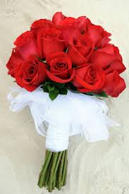 صور باقة ورد جوري أحمر رومانسي Damask Rose Bouquet عالم الصور