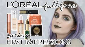 makeup full face of first impressions