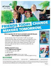 Ada W Harris girls: Join Girl Scouts! : Empowerment - school -