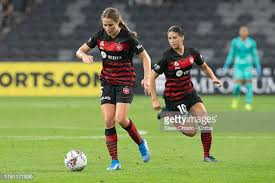 Courtney Nevin of the Wanderers dribbles the ball during the round 2...  News Photo - Getty Images