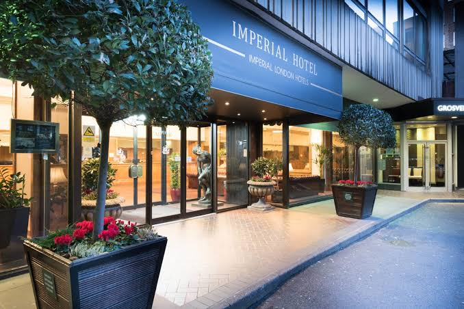 Image result for imperial hotel london""