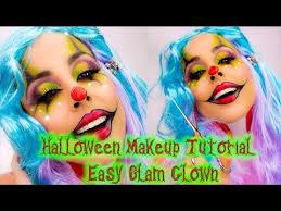 glam clown makeup beauty makeup