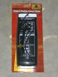 Woodstream 680725 Zareba Digital Electric Fence Tester For Sale Online Ebay