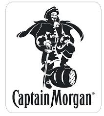 Captain Morgan Vinyl Sticker R494 Winter Park Products