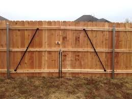 10 Easy Pieces Gate Braces Gardenista
