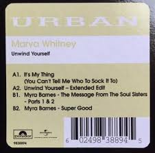MARVA WHITNEY / MYRA BARNES - It's My Thing / The Message From The Sou –  Vinyl Exchange