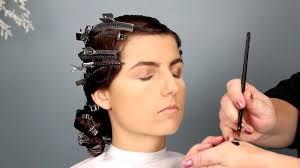 1920s bridal hair and makeup tutorial