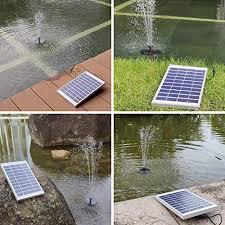 heystop solar fountain pump 3 0w