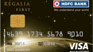 regalia first hdfc credit card offers