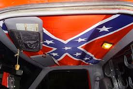 diy confederate flag truck headliners