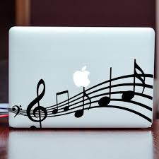 Bass Clef Laptop Sticker Bass Clef Sticker Macbook Musical Symbols Decal Car Sticker Musical Clef Decor Music Notes Musician Gift Idea In 2020 Computer Sticker Macbook Decal Laptop Stickers