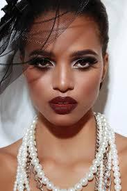bold makeup beauty dark skin