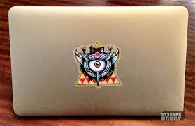 The Ultimate Laptop Stickers Tutorial How To Make Cool Custom Laptop Stickers Sticker Robot Custom Stickers