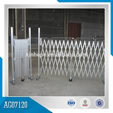 Good Quality 1 8m High Contracting Aluminum Fence Gate Buy Contrating Aluminum Fence Retractable Fence Gate Fence Gate Product On Alibaba Com