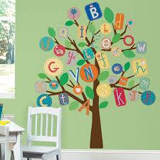Abc Primary Tree Peel Stick Wall Decal 25 Nisan Fikirler Duvar