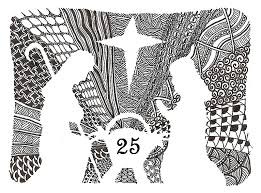 Anti Stress Kleurplaten Advent Kalender 25 December 29