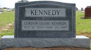 Gordon Duane Kennedy (1933-1987) - Find A Grave Memorial