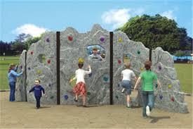 plastic kids rock climbing wall