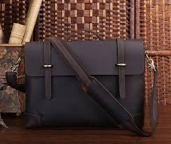 crazy horse leather jmd men briefcase