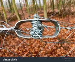 Old Wire Tensioner Wire Fence Closeup Stock Photo Edit Now 1006611625