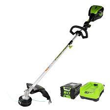 Greenworks 16 Inch Pro 80v Cordless String Trimmer Attachment Capable Battery And Charger Included 2101102 Walmart Com Walmart Com