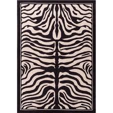 Large 8x11 White And Black Zebra Rug Zebra Rugs For Living Room Animal Print Rug 8x10 Rugs Walmart Com Walmart Com
