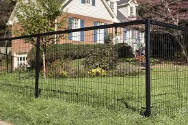 Yardgard Select Metal Fencing Steel Fence Only Kit 4ft High Black 96 Ft X 4 Ft Steel Fence Only Kit Amazon In Garden Outdoors