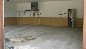 prepare garage floor for painting
