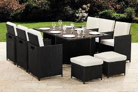 10 seater cube rattan garden furniture