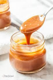homemade salted caramel sauce 4