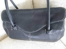 black leather tignanello purse 15