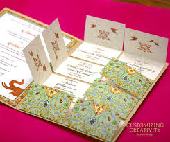 unique creative wedding invitation