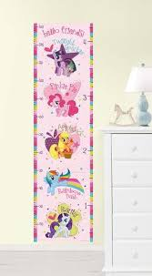 My Little Pony Growth Chart Wall Decal Sticker Wall Decal Allposters Com